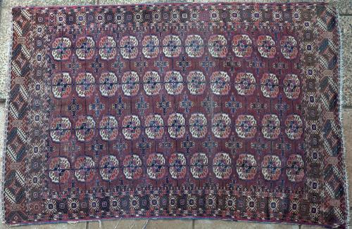 Antique Tekke Turkoman Turkmenistan rug