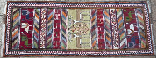 Qashqa'i Persian rug/runner