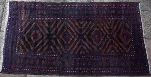 Old or Antique Baluch Afghan rug