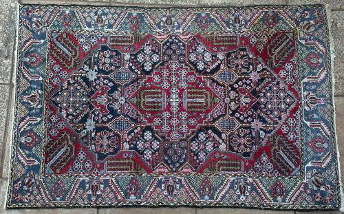 Old or antique  Malayer Persian Rug