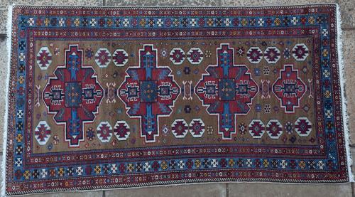 Old Kazak Caucasian Armenia rug