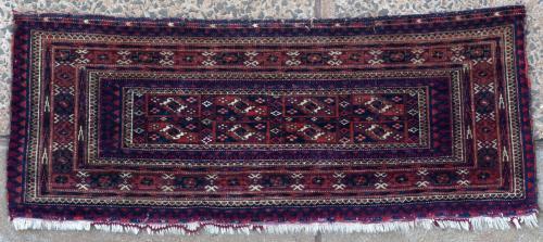 Antique Tekke Turkoman Torba or storage bag.