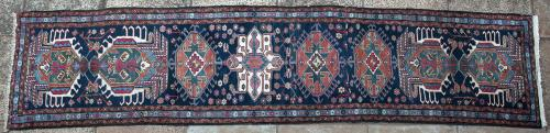 Old or antique Karaja Persian runner