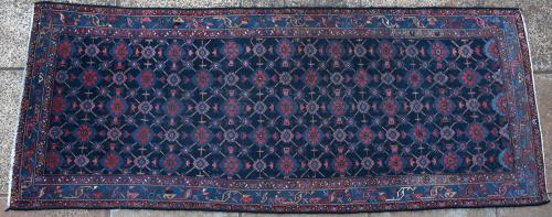 Old Malayer Persian long rug