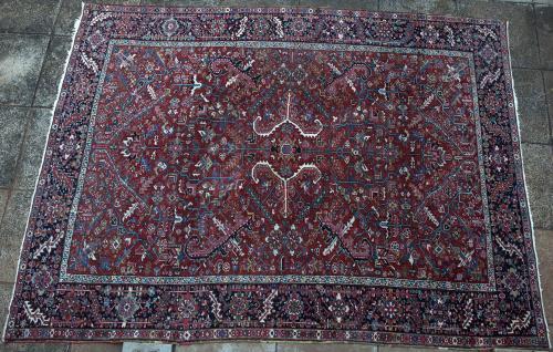 Antique or old Heriz Persian Carpet