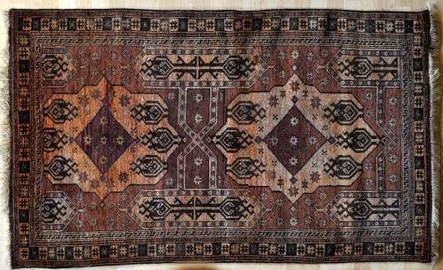 Old Afghan Charshango Rug