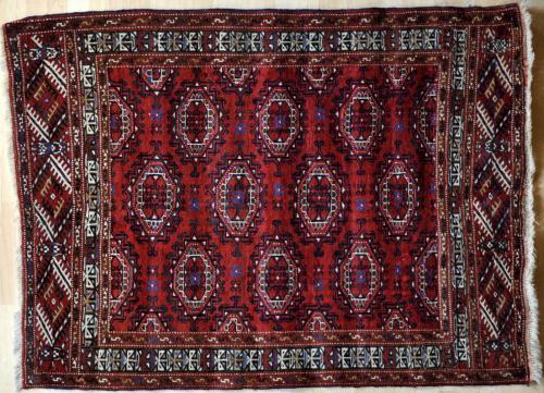 Old Saryk Turkoman rug