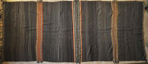 Old Moroccan Ait Ouzouzguite tribal kilim