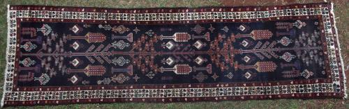 Persian Bakhtiari Tribal Antique Runner