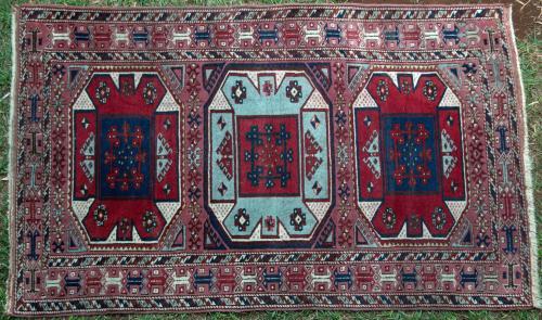 An Old Kayseri Turkish Rug