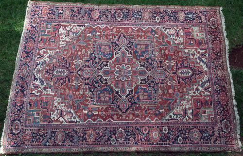 Antique Heriz Persian Carpet
