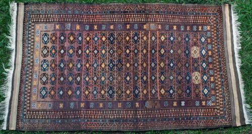 Old or Antique Baluchi tribal rug