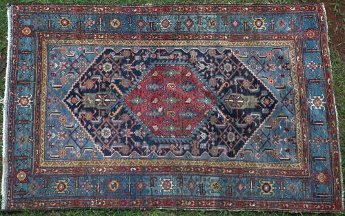 antique or near antique Malayer Persian rug