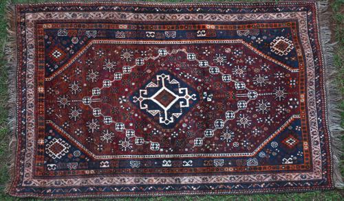 Old Qashqa'i or Shiraz tribal rug