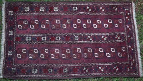 Old Ersari Afghan Rug
