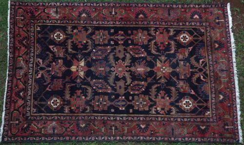 Zanjan or Hamadan Persian Rug