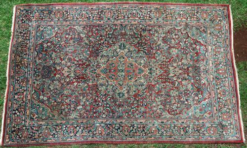Antique Sarouk Persian Carpet