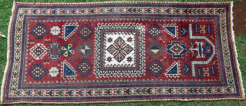Fachralo or Fakhraly Kazak or Gendge Caucasian rug