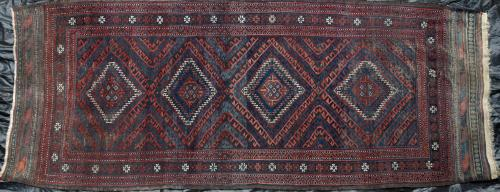 Antique Baluch possibly Aimaq rug