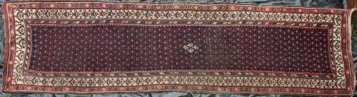 Antique South Caucasian runner