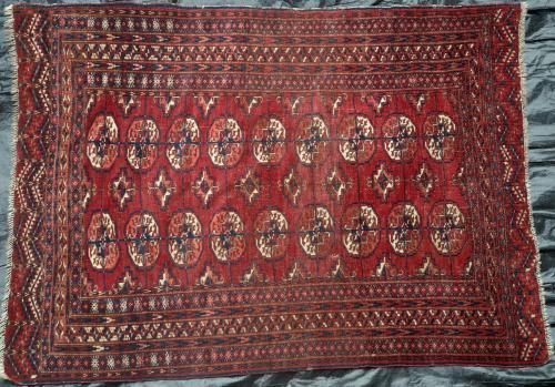 Antique Tekke Turkoman Rug Turkmenistan Russia