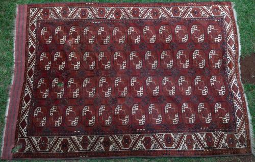 Antique Kizilayak Afghan main carpet