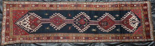 Old or antique Heriz or Northwest Persian runner