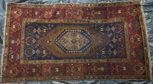 Antique Anatolian Turkish Rug