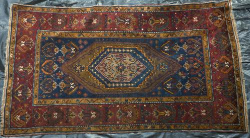 Antique Anatolian Turkish Rug