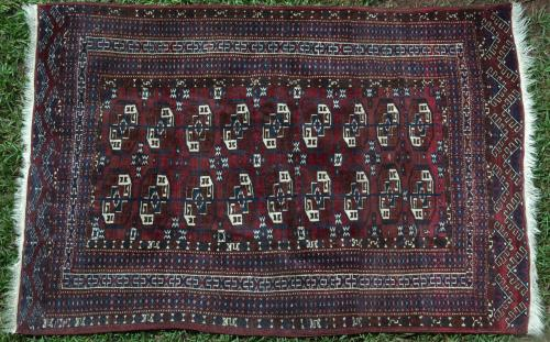 Antique Tekke Turkoman Rug Turkmenistan Soviet