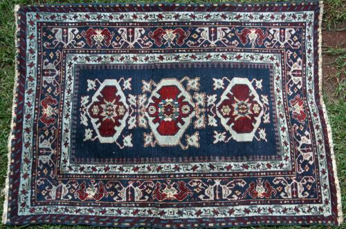 Caucasian Tribal Old Rug