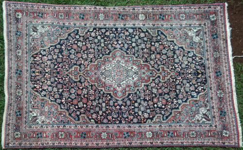 Antique Jozanl Persian Rug