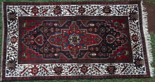 Old Malayer or Hamadan Rug