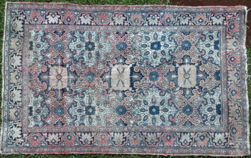 Antique Tabriz Persian one of a pair
