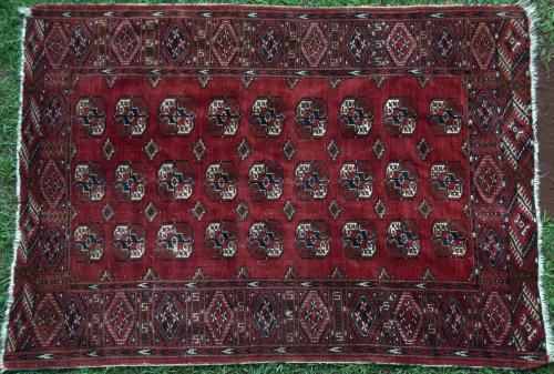 Antique Tekke Turkoman Rug Turkmenistan Russia