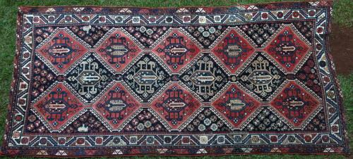 Antique Afshar Tribal Persian Runner