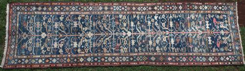 Antique Caucasian or Kurdish Runner