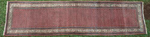 Antique Serabend Persian Runner