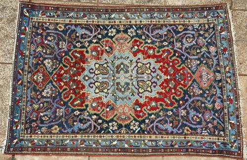 Old Malayer or Hamadan Persian rug