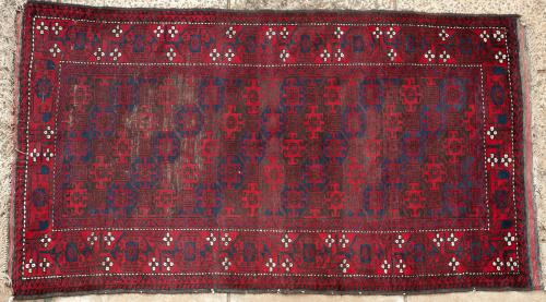 Antique Baluch Afghan or East Persian prayer rug
