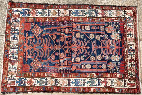 Old Hamadan (?) northwest Persian rug