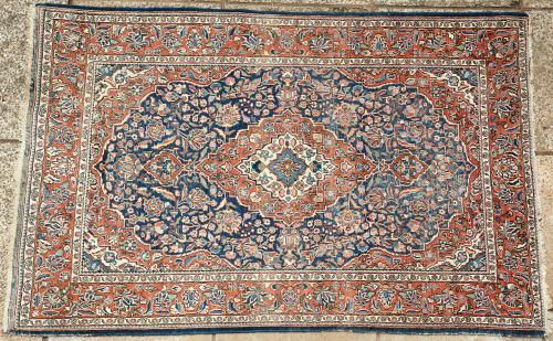 Old to antique Sarouk northwest Persian rug