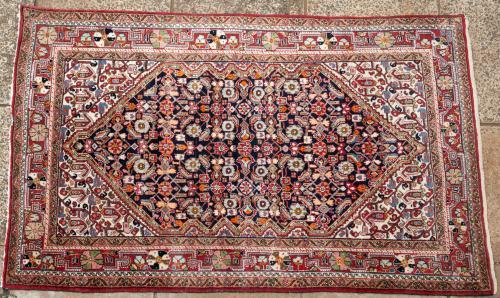 Old Hamadan Persian rug