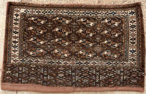Antique Yomut Turkoman Chuval (storage bag)