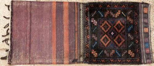 Old Baluch Afghan or East Persian tribal storage bag
