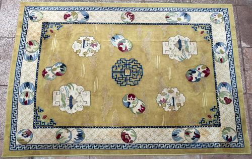 German Tetex Chinese design carpet