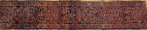 Antique near antique Lilian Persian runner