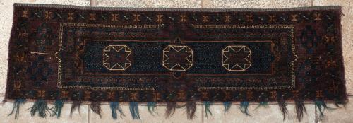 Old Ersari or Beshir Turkoman Afghan torba