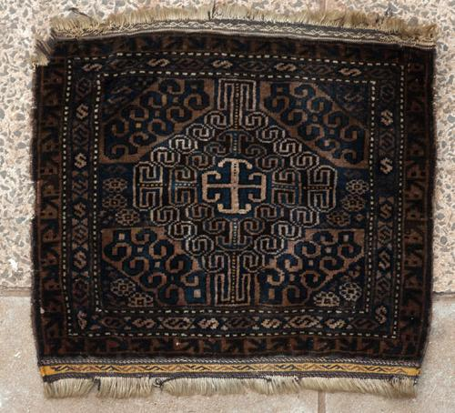 Antique Baluch khorjin or saddle bag