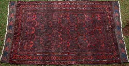 Antique Chakansur Baluch Afghan main Carpet